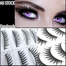 10 Pairs of False Eyelashes Natural  Handmade Extension Lashes 009