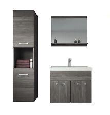 Badezimmer Badmöbel set Montreal 60 cm Waschbecken - Unterschrank Hochschrank