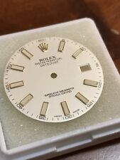 Ivory Cream Ref 116333 *with Dents* Genuine Dial Rolex Datejust Ii 41mm
