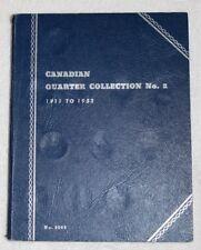 CANADIAN QUARTER COLLECTION NO. 2 1911 TO 1952 NO. 9068