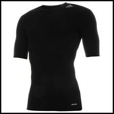Sale adidas SS Base Tech Fit Compression T Shirt Black Medium