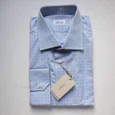 Camisas de vestir de hombre azules Brioni