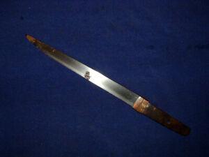 [SMB24] Japanese Samurai Sword:  Mumei Tanto Blade