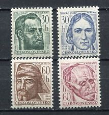37150) CZECHOSLOVAKIA 1966 MNH** Donatello, Sucharda… .