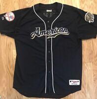 Jason Giambi #25 New York Yankees 2002 MLB ALL Star Game Majestic Jersey XXL