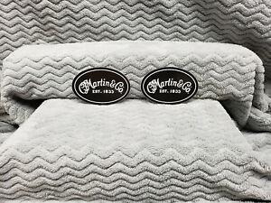 Martin Guitars 2 Sticker Set......CF Martin<>ORIGINAL<>GENUINE