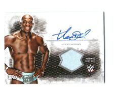 WWE Titus O'Neil 2015 Topps Undisputed Authentic Autograph Shirt Relic Card