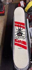 Very Rare Airwalk Black Widow Snowboard 147Cm