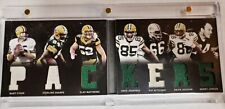 Packers 2012 Panini Playbook RC Auto Playbook Booklet 11/29 Bart Starr and more