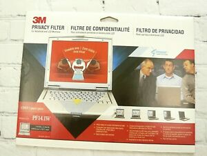 3M PF14.1W Widescreen Laptop Notebook Monitor Privacy Filter