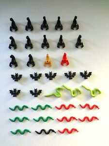 Lego Scorpions Bats Snakes Various Types Animals Minifigure Pets Lot of 35