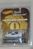 2013 HotWheels Retro: The Spy Who Loved Me-Lotus Esprit S1-Submarine Mode. RARE!