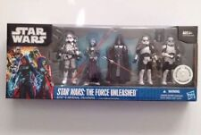 STAR WARS FORCE UNLEASHED SITH & IMPERIAL TROOPERS 5 PC. TRU EXCLUSIVE BOX SET