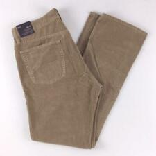 GAP Mens 1969 Straight Brown Corduroy Mens 36 x 34 New Tan Beige NEW