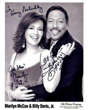 MARILYN McCOO & BILLY DAVIS, JR. Signed Photo