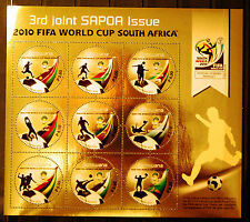 Botswana 2010 SAPOA / Fifa World Cup Mini-Sheet, MNH