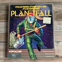 Rare Vintage Planetfall Grey Box Infocom Interactive Fiction 1983 IBM PC