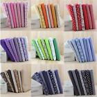 7Pcs 25cmx25cm Assorted Pattern Floral Cotton Fabric Cloth For DIY Crafts Sewing