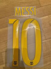 OFFICIAL NAMESET MESSI 10 BARCELONA 16/17, Home Jersey