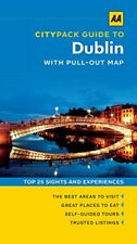 Very Good 0749576588 Paperback AA Citypack Dublin (Travel Guide) (AA CityPack Gu