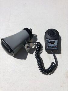 USS Flagg Microphone Bullhorn 1985 Vintage Gi Joe - AS-IS