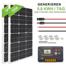 100W 120W 150W 200W Solarpanel Kit Solarmodul & Controller für Wohnmobilboot