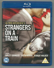 Alfred Hitchcock • Strangers On A Train • Region Free • Like New • Free Shipping
