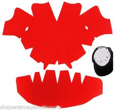 1 Pk. RED-LARGE-Baseball Cap Crown Inserts & Dome Panel Shaper| Hat Shaper Liner