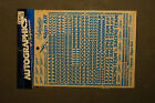 Autographics SIGN KIT #525 Blue color Vintage new old stock bolink rc10 ayk NEW