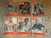 Life Magazine 1941-1942 41-42 lot AS IS!!!!