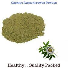 100 Gram Premium Organic Passionflower powder - Passiflora Incarnata  Herbal Tea