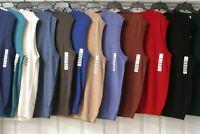 Men's TURNBURY Extra Fine Merino Wool V-Neck Sweater Vest M, L, XL, XXL XLT, 2XT