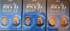 WEB OF FAITH 2.0 3-DVD SET:LAMB OF GOD*HEAVENLY BATTLE ANGELS*CATHOLIC CHURCH...
