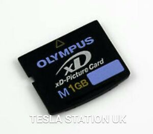 OLYMPUS 1GB Type-M xD-Picture Memory Card in LNC. SAME DAY DISPATCH!