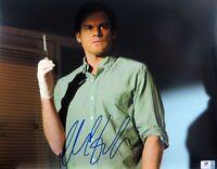 Michael C Hall Signed Autographed 11X14 Photo Dexter Holding Syringe GV793781