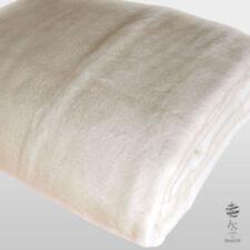 Couvertures lavable en machine beige pour le lit Chambre