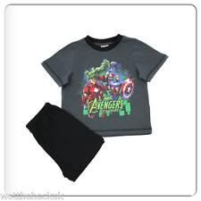 Infinity Wars Assemble Boys Kids Avengers Pyjamas PJs Shorts Hulk Iron man