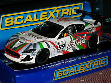 1/32 SLOT CAR  SCALEXTRIC MASERATI TROFEO C3388 2012 MCCAFE TIGE  DPR LIGHTS
