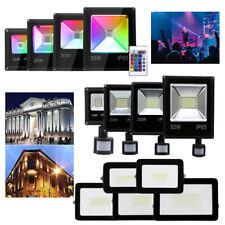 LED Fluter Strahler 10W 20W 30W 50W 100W RGB Außen IP65 Scheinwerfer Flutlicht