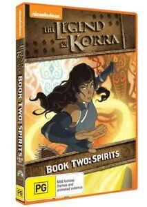 The LEGEND OF KORRA Series BOOK 2: SPIRITS : NEW DVD