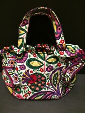 Vera Bradley Small Floral Pocketbook with Magnetic Closure in Good Condition