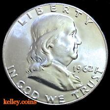 1962 50C Franklin Silver Half Dollar BU
