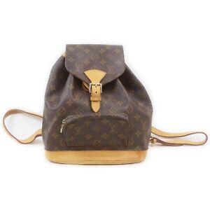 Louis Vuitton Back Pack Montsouris MM M51136 Browns Monogram 1515492
