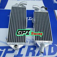 L&R for KAWASAKI KX250 KX 250 1988-1989 Aluminum Radiator