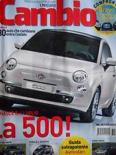 CAMBIO n°4 2007 - Fiat 500 Bravo Toyota Auris VW Golf  [Q199A]