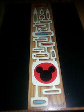 Disney WonderGround MICKEY'S MAGIC KINGDOM Postcard by Michelle Bickford NEW