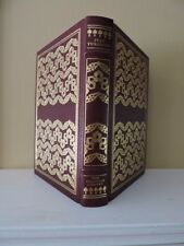 """1978 """"FIRST LOVE AND OTHER TALES"""" Ivan Turgenev Franklin Library Full Leather"""
