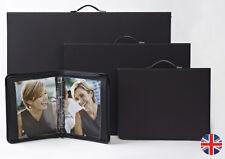 Teloman Tech-Style ART MATRIX Presenter - Portfolio with Rings - A4