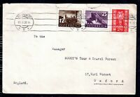 Austria 1938 Postal History Cover and Labels WS14486