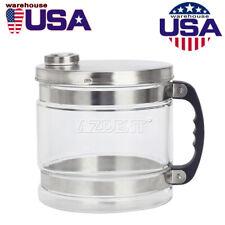 4L Glass Bottle/Jar Pure Water Filter Bucket for Distiller Purifier Distillation